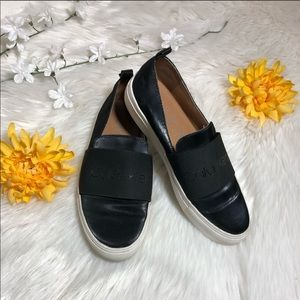 Calvin Klein Black slip-on shoes